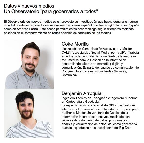 databeers Valencia - Coke Morillo y Benjamín Arroquia